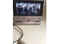 7 in. PORTABLE DVD PLAYER EX CON AND PERFECT WORKING ORDER £20
