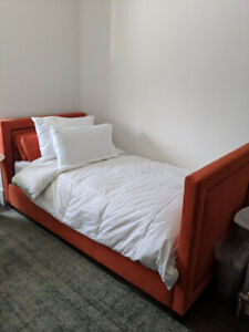 Custom twin bed (great for children's room or spare room) $1400