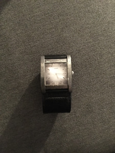 Mens Black Guess Watch