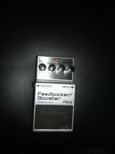 Boss FB-2- Feedbacker/Booster . Great for live or studio.