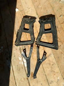 Dodge Ram 1500 Rear Bumper Brackets