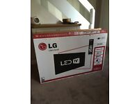 "LG 42"" HD LED TV with freeview."