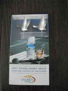 2 Brand New Grey Goose Cocktail Garnish Picks London Ontario image 1
