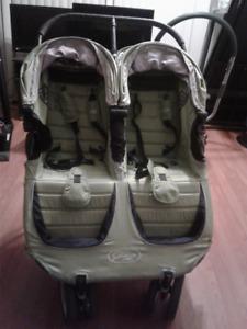 poussette double city mini de baby jogger/double stroller