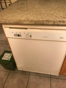 Kitchen appliances dishwasher microwave great shape