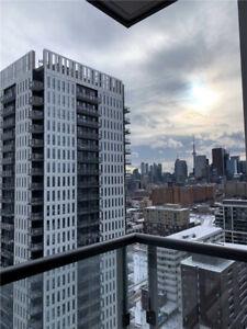 Laminate Floors, 9Ft Ceilings & Floor Ceiling Windows