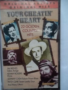 Your Cheating Heart - 22 Country Hits on cassette