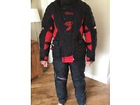 Akito Motorcycle Fabric Jacket & Trousers