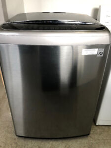 Laveuse stainless LG top load