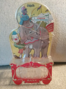1960's Toy Circus Bank