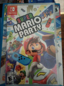 Mario party Nintendo Switch brand new never opened