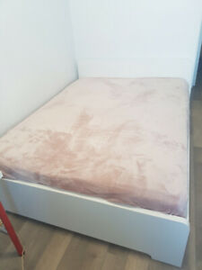 White ikea bed frame Queen Size