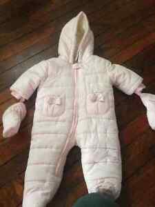 3-6 month brand new snow suit