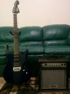 Washburn Pro Electric Guitar with Washburn Amp - Collingwood, ON
