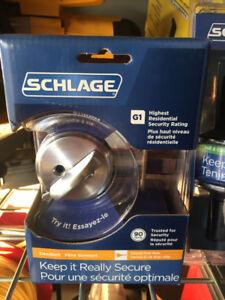 Schlage door handles and deadbolt