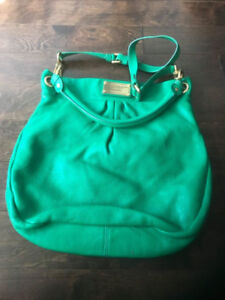 Marc by Marc Jacobs Leather Shoulder Crossbody Bag - GREEN