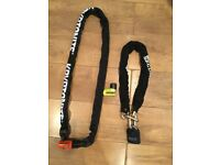 2 motorbike security chain lock for sale,