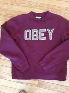 OBEY size small youth sweatshirt