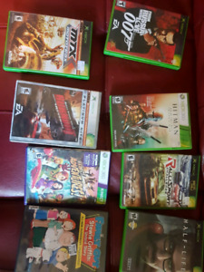 Old xbox games, xbox 360 games, ps3 games