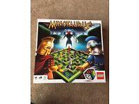 Lego minotaurus game board puzzle mythology