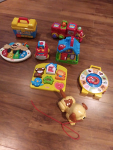 Baby-toddler toy lot
