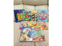 Set of 9 DISNEY books