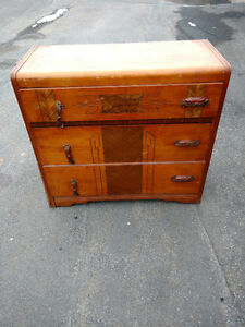 Antique dresser and drawers