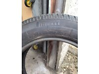 New Pirelli tyre