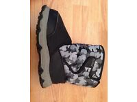 Kid's Camouflage Snow Boots