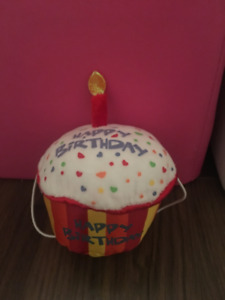 Cupcake «peluche» rouge Build A Bear/Red birthday cupcake
