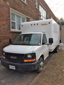 2013 GMC Cube van