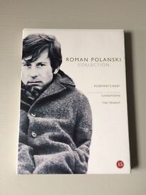 DVD Film Roman Polanski Collection 3 Films: Rosemary's Baby, Chinatown & The Tenant