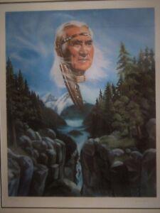 Indian chief of the Salish Band, BC: Chief Dan George