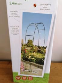 Brand new garden arch