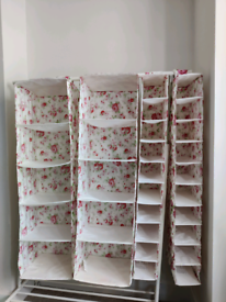 IKEA clothing storage compartments