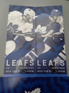 )))February 6 leafs vs Ottawa ROW 5(((
