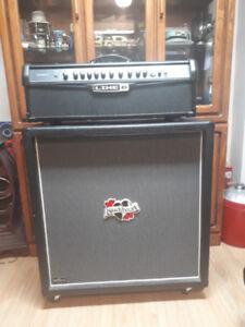 Combo cabinet blackheart 4x12 300w et tête line6  hd150+pedal