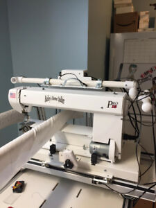 Mid Arm Quilting Machine and Table