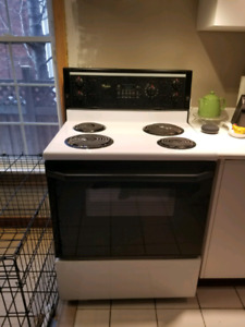 Whirlpool electric stove oven - 30 inch