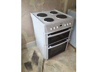 Beko Double Oven freestanding cooker.
