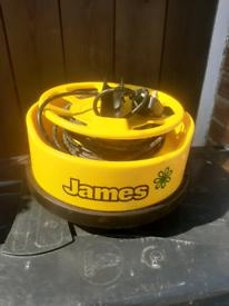 James vacuum head.