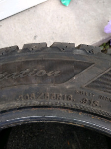 Goodyear Nordic Winter Tires 205/55 r16