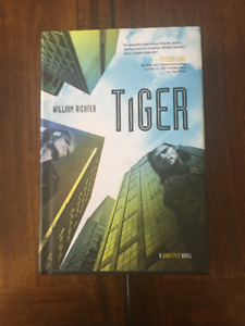 Tiger by William Richter hardcover book