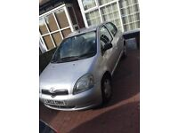 Toyota Yaris low mileage