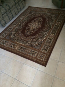2 area rugs, good Clean cond $50. 00 each, one is 7 ft x 5 ft 2
