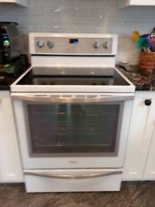 Whirlpool Electric  Convection Range Self Clean