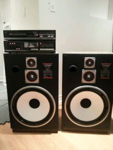 Fisher STC-831  tower speakers