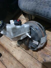Ford transit mrk 7 2013 master break cylinder and servo and bottle