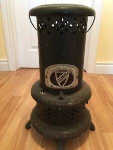 Foyer antiquité au  gaz.