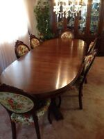 Dining Room suite and China cabinet